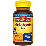 Nature Made Maximum Strength Melatonin 5 mg Tablets
