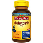 Nature Made Melatonin 3 mg Tablets Value Size