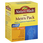 Nature Made Men's Pack Daily Packets