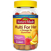 Nature Made Multi For Her Plus Omega-3s Adult Gummies