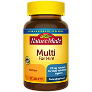 Nature Made Multi for Him, Tablets