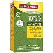 Nature Made Odor Control Garlic 1250 mg Tablets