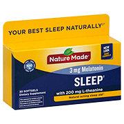 Nature Made Sleep Natural Acting Sleep Aid Liquid Softgels