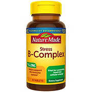 Nature Made Stress B-Complex with Vitamin C and Zinc Tablets
