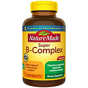 Nature Made Super B-Complex Tablets Value Size
