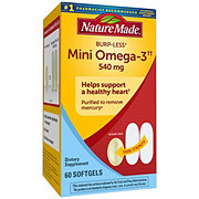 Nature Made Super Omega-3 Full Strength Minis Softgels