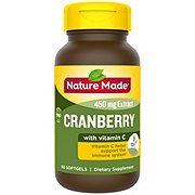 Nature Made Super Strength Cranberry Extract 450 mg Softgels