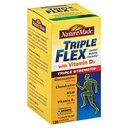 Nature Made Triple Flex with Vitamin D3 Triple Strength Caplets