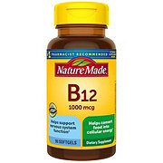 Nature Made Vitamin B-12 1000 mcg Liquid Softgels