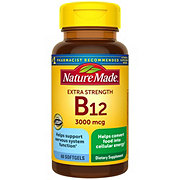 Nature Made Vitamin B-12 3000 mcg Liquid Softgels