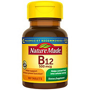 Nature Made Vitamin B-12 500 mg Tablets