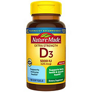 Nature Made Vitamin D3 5000 IU Ultra Strength