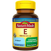 Nature Made Vitamin E 400 IU Liquid Softgels