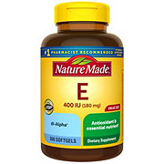 Nature Made Vitamin E 400 IU Liquid Softgels Value Size