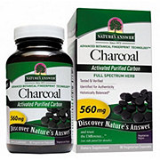 Nature's Answer Charcoal Capsules