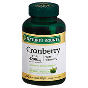 Nature's Bounty Cranberry with Vitamin C 4200 mg Softgels