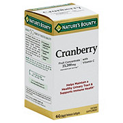 Nature's Bounty Cranberry with Vitamin C Triple Strength Softgels