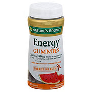 Nature's Bounty Energy Watermelon Gummies