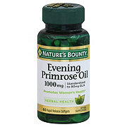 Nature's Bounty Evening Primose Oil 1000 mg Softgels