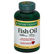 Nature's Bounty Fish Oil 1200 mg Omega-3 Softgels