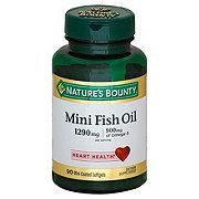 Nature's Bounty Fish Oil 900 mg Omega-3 1200 mg Mini Softgels