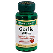 Nature's Bounty Garlic 2000 mg Odorless Tablets