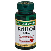 Nature's Bounty Krill Oil Red 500MG Softgels