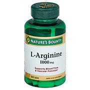 Nature's Bounty L-Arginine 1000 mg Tablets