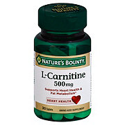 Nature's Bounty L-Carnitine 500 mg Caplets