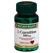 Nature's Bounty L-Carnitine 500 mg Caplets