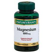 Nature's Bounty Magnesium, 400 mg