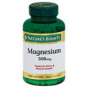 Nature's Bounty Magnesium 500 mg