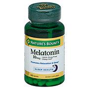 Nature's Bounty Melatonin 10 mg Capsules