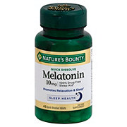 Nature's Bounty Melatonin 10 mg Quick Dissolve Tablets