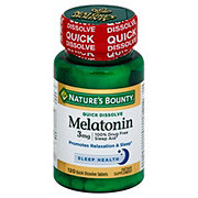 Nature's Bounty Melatonin 3 mg Quick Dissolve Tablets
