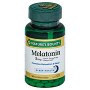 Nature's Bounty Melatonin 5 mg Softgels