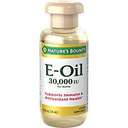 Nature's Bounty Natural Vitamin E-Oil 30000 IU