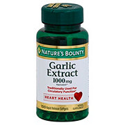 Nature's Bounty Odorless Garlic 1000 mg Softgels