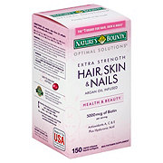 Nature's Bounty Optimal Solutions Extra Strength Hair Skin & Nails Multivitamin Softgels
