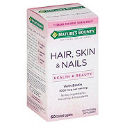 Nature's Bounty Optimal Solutions Hair Skin and Nails Coated Caplets
