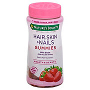 Nature's Bounty Optimal Solutions Hair Skin and Nails Gummies