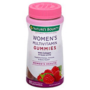 Nature's Bounty Optimal Solutions Women's Multivitamin Raspberry Gummies