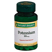 Nature's Bounty Potassium Gluconate 99 mg Caplets
