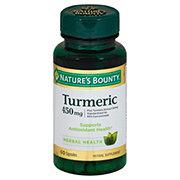 Nature's Bounty Turmeric Curcumin 450 mg Capsules