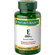 Nature's Bounty Vitamin E 400 IU Pure dl-Alpha  Softgels