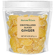 Nature's Eats Crystallized Sliced Ginger