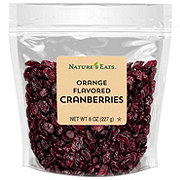 Nature's Eats Orange Flavored Cranberries