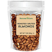 Nature's Eats Roasted Salted Almonds