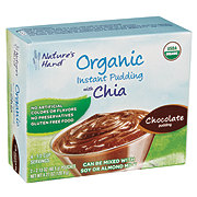 Nature's Hand Organic Chocolate with Chia Instant Pudding Mix