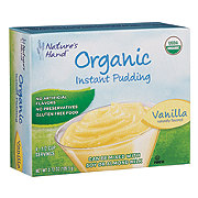 Nature's Hand Organic Vanilla Instant Pudding Mix